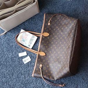 Louis Vuitton Monogram Neverfull GM Beige